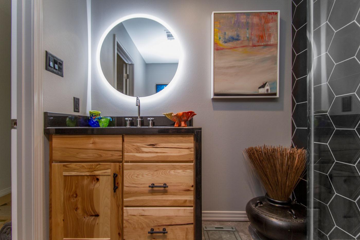 Cambridge Condo Little Rock Kitchen and Bath Remodel