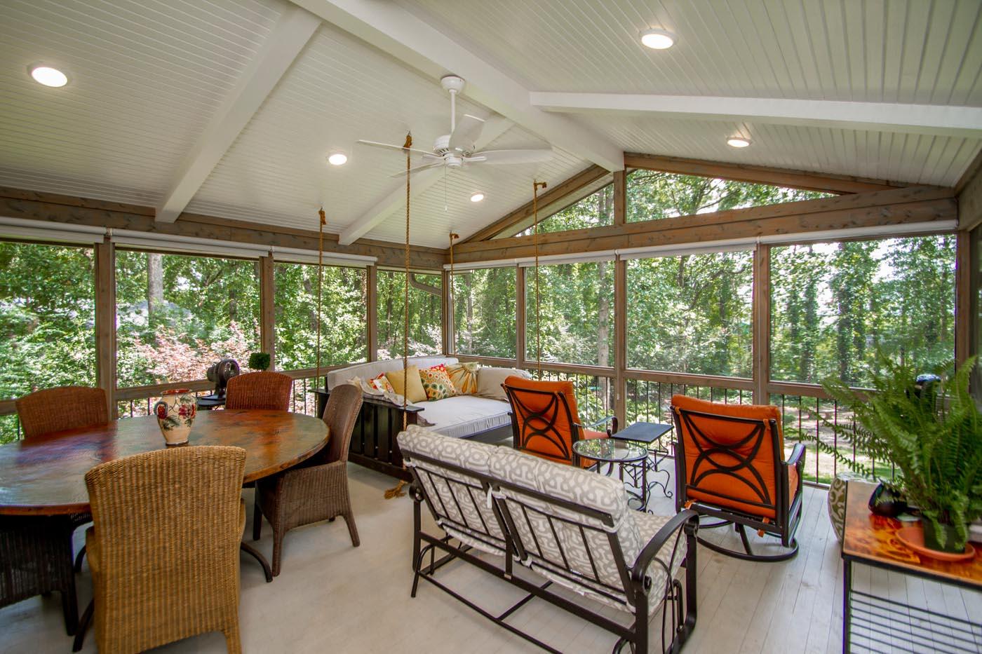 Fairway Porch Addition in Pleasant Valley Little Rock