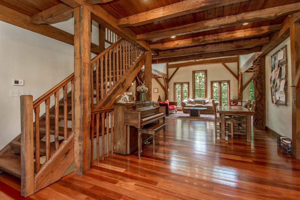Fernwood Custom Timber Fram Home in Arkansas