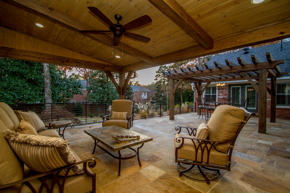 Glenridge Porch and Pergola Addition